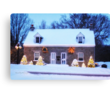 May Your Christmas Time Be Bright Canvas Print