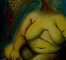 The nude pear by catherine galfetti