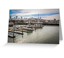 San Francisco View from the Waterfront Greeting Card