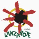 Lanzarote - Large Logo by CanaryNightlife