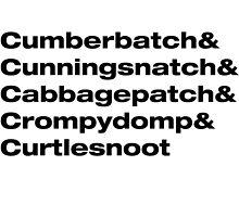 Benedict Cumberbatch wordplay by KimTaekYong