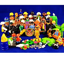 Pepper Playmobil Style Photographic Print