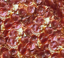 Pepperoni Pizza Print by RexLambo
