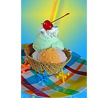 Edible Art Photographic Print