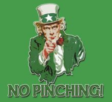 UNCLE SAM Says NO Pinching by Greenbaby