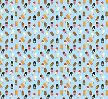 Mega Ice Cream Pattern by Onno Knuvers