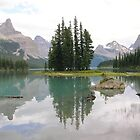 ' Spirit Island.' Canada by Elizabeth  Dew