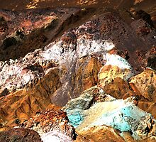 Artist Palette, Death Valley by Benjamin Padgett