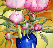 Peonies by Gaby Schrott