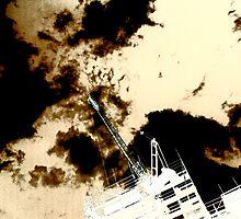 Inkblot sky by Richard  Durocher