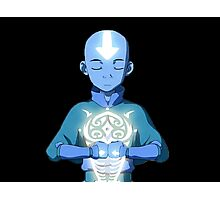 Avatar The Last Airbender Aang's Avatar State With Raava Photographic Print