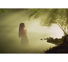 The lady of the lake Photographic Print