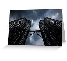 Petronas Twin Towers Greeting Card