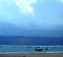 Sunset Beach by Mili Wijeratne