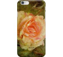 Damaged ~ a Rose with a Message iPhone Case/Skin