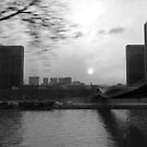 Paris by bus - National Library of France BnF - La Seine by Pascale Baud