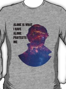 Alone Protects Me T-Shirt