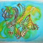 'Tropicana Butterfly' by Shaida  Parveen