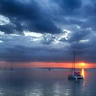 Storm Clearing at Sunset by bidkev1
