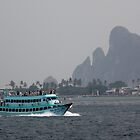 Turquoise Ferry by sailgirl