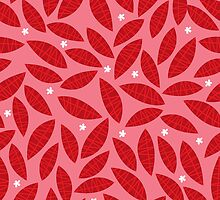 Happy red leaves by laurathedrawer