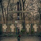 Monument for those who got shot, trying to escape the DDR (Berlin) by Nicole W.
