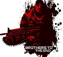 Brothers To The End - GOW by offbeatzombie24