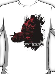 Brothers To The End - GOW T-Shirt