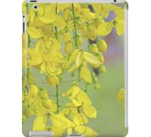 Golden Yellow Blossoms (Cassia Fistula Tree) iPad Case/Skin