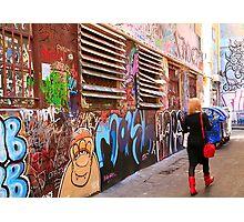Rutledge Lane, Melbourne, VIctoria, Australia  Photographic Print