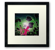 Lunar  Love Framed Print