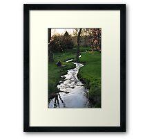 Our Picnic Spot Framed Print
