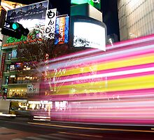 Shibuya Lights by Matt  Streatfeild