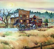 DRY CREEK STATION by SHARON SHARPE by sharonsharpe