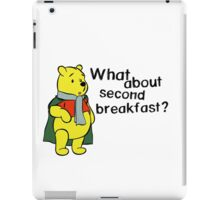 What about second breakfast? iPad Case/Skin
