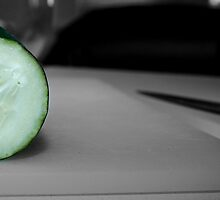 I Heart Cucumber by Chrysler Menchavez-Carlow