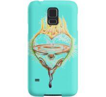 FLAMING HEART>>>love Samsung Galaxy Case/Skin