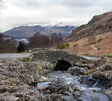 Ashness Bridge & Derwentwater by Nigel Donald