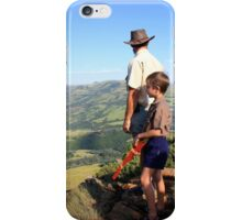 On top of Majuba Mountain, thoughts going back to an event 131 years ago... (Natal, South Africa) iPhone Case/Skin