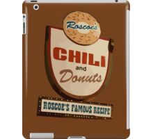Roscoe's chili and donuts. Famous recipe. Chicken and waffles. iPad Case/Skin