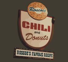 Roscoe's chili and donuts. Famous recipe. Chicken and waffles. by dirttrackvibes