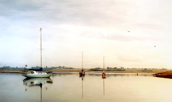Quiet Water by Barry Thomas