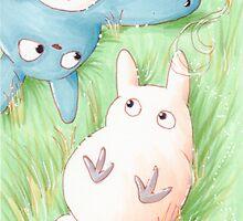 Totoro Lazy Day ! [UltraHD] by Paul Gautier