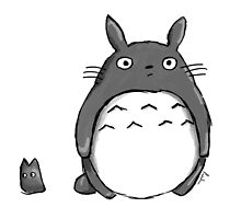 My Drawing Totoro ! by Paul Gautier