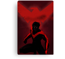 Red Nightwing  Canvas Print