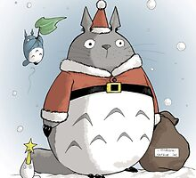 My Totoro Christmas ! [UltraHD] by Paul Gautier