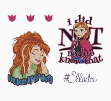 Funny Anna Mini Sticker Pack by Ellador