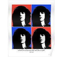 Patti Smith- American Artist Poster
