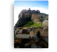 Edinburgh Castle Canvas Print