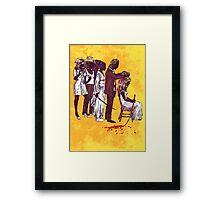 Kill Bill Gang  Framed Print